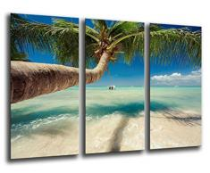Poster Fotográfico Paisaje Playa Tropical Tamaño total: 97 x 62 cm XXL