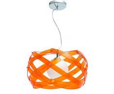 Interfan Nido - Lámpara colgante, color naranja