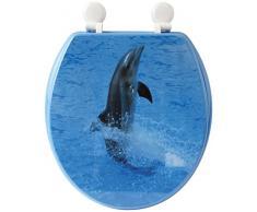 Gelco Design 707615 Delphi - Tapa para WC, diseño de delfín