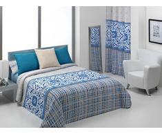 Quilt & CO Fundas Nordicas Azul 105 x 200 cm