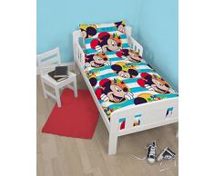 Disney Mickey Mouse - Juego de cama infantil