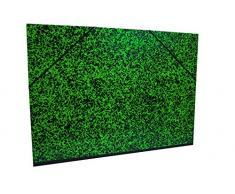 Clairefontaine Annonay Art carpeta con elástico, verde, 52 x 72 cm