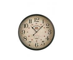 Versa 18190113 - Reloj de pared, 50 cm, con acabados desgatados