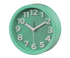 Hama Reloj, Plástico, Verde, 12x4x12 cm