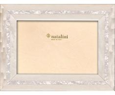 Natalini MPB 30 Bianco 20 x 25 Marco de Fotos de Madera y Cristal, 30 x 25 x 1,5 cm