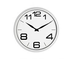 Premier Housewares - Reloj de pared (35,7 cm), color blanco