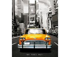 GB Eye, New York, Taxi No 1, Mini Poster 40x50cm