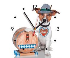Reloj de pared de cocina - el perro de bávaro