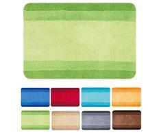 Spirella, Verde colección Balance, Alfombrilla de Ducha 55 x 65,90% Polyester-10% Acrílico, 55 X 65 Cm