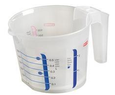 CURVER Papelera 00547-001-00 Vaso medidor, 0,5 L, translúcido