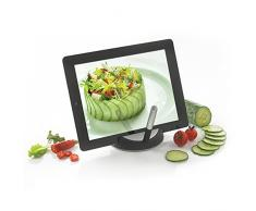 XD Design P261.171 P261.171-Stand Chef para Tablet con bolígrafo táctil, Color, Stainless Steel, Negro