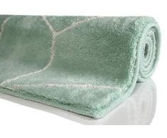 ESPRIT Flair Alfombra Moderna, poliacrílico, Verde Claro, 120 x 70 x 2 cm