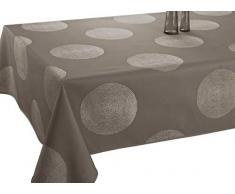 Mantel Antimanchas, diseño de círculos Topo – Tamaño: Rectangular, 120 x 150 cm