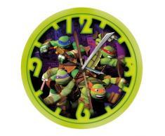 United Labels 0118494 - Reloj de pared, diseño de las Tortugas Ninja