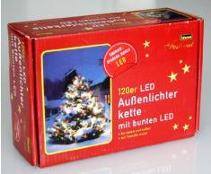 Idena 8325098 - Cadena de 120 luces LED para exterior (20 m)