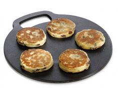 Kitchen Craft - Bandeja de hierro fundido para horno (27Â cm)