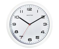 Acctim 92/301 Aylesbury Reloj de pared, color blanco