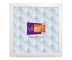 Vivarti Marco de Fotos Blanco Mate, 50 x 50 cm, Color Blanco