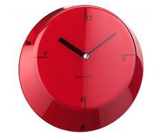 Bugatti Reloj de pared, rojo