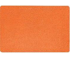 Spirella 50 x 80, Naranja colección Fury, Alfombrilla de Ducha, 100% Polyester