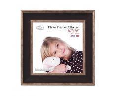 Inov8 10 x 25,4 cm mosaico de marcos de fotos, 4 unidades, se debe lavar a negro