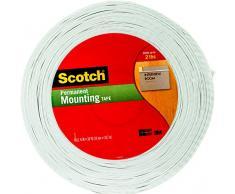 3 M Scotch R doble cara cinta de montaje de espuma, multicolor, 25,4 x 19,3 x 2.03 cm)