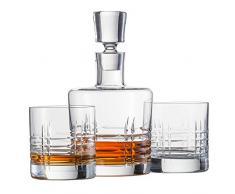 Schott Zwiesel 120143 Basic Bar Classic Whisky Compuesto por 1 - Juego de Jarra y 2 Double Old Fashioned Vasos Whisky Set, Cristal, incoloro, 22.5 x 13.0 x 23.0 cm