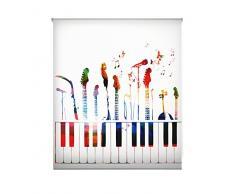 Blindecor W-J-16807 - Estor enrollable translúcido, estampado digital, 130 x 180 cm, multicolor