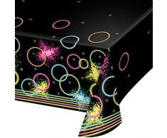 Creative convertir estructuras de All Over Print Mantel de plástico, plástico, Tablecover, 54 x 102