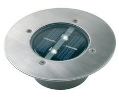 Smartwares RA-5000197 Baliza Solar LED Redonda Silver