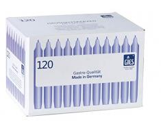 Gies 205-169000-10 - Caja de 120 Velas (200 x 245 mm) Color Blanco