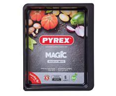 Pyrex Magic Molde Para Horno, Acero Inoxidable, Negro