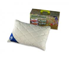 Badenia Bettcomfort almohada rematado con mijo 03460100107 40 x 60 cm de algodón natural