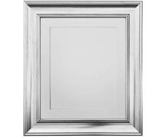Frames by Post Marco de Fotos Vintage Scandi, Silver with White Mount, 10 x 8 Image Size 7 x 5 Inch