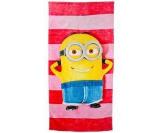 United Labels 119859 Minions - toalla de playa Dave, 152 x 75 cm aproximadamente