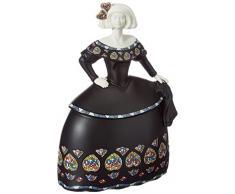 Nadal Figura Decorativa menina Sirene´s pequeña, Resina, Multicolor, 6.50x9.50x14.00 cm