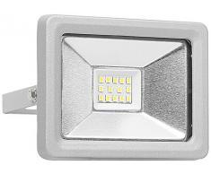 Smartwares Foco LED, 10 W, Plateado, 12x7.35x12.8 cm