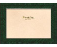 Natalini BIANTE Verdone 13X18 Marco de Fotos con Soporte para Mesa, Madera, Verde Oscuro, 13 X 18 X 1,5