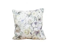 Belssia Cojín Floral Terciopelo Multicolor 50x50x17 cm