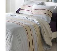 C Textiles para el hogar Diseño ARTE 2603 Odaya duvet cover set 260 x 240 cm 2 almohada almohada 65 x 65 cm Algodón Beige