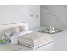 SABANALIA - Funda nórdica Niza (Disponible en Varios tamaños y Colores), Cama 120, Blanco