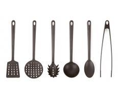 Excelsa Naif - Juego de 6 utensilios de cocina, nailon