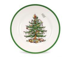 Spode - Plato con diseño de árbol de navidad (27 cm)