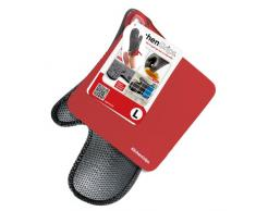 Kitchengrips 110708-11 - Set de 2 guantes y 1 paño de cocina