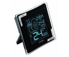 LEXIBOOK (TH020 Termómetro Digital de Mesa, Alta precisión, Sensor Humedad, Funcion Reloj y Despertador