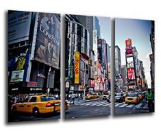 Poster Fotográfico New York, Ciudad Nueva York, Rascacielos Tamaño total: 97 x 62 cm XXL