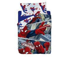 Marvel Spiderman Funda nórdica, Algodón-Poliéster,, Cama 80/95 (Twin), 200.0x90.0x25.0 cm, 3 Unidades