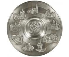Artina 60762 - Plato Decorativo para Pared diseño de Austria