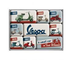 Nostalgic-Art 83110 - Imanes para el frigorífico, diseño Retro de Vespa