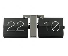 Karlsson ka5601bk no Case reloj de pared Metal Negro 8.5 x 36 x 14 cm